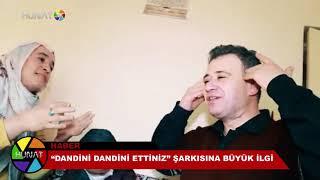 """""""DANDİNİ DANDİNİ ETTİNİZ"""" ŞARKISI SOSYAL MEDYAYI SALLADI"""