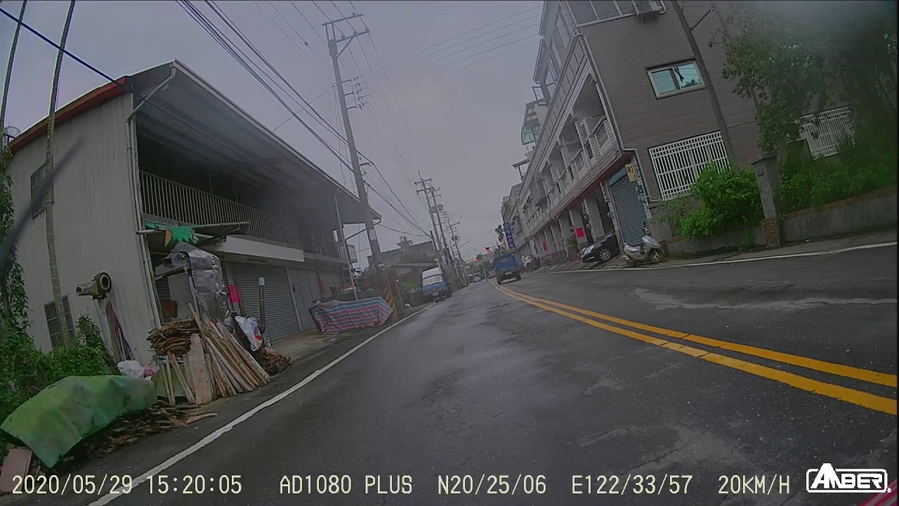 銨鉑AMBER-AD1080+ 雨天實戰139 後鏡頭 - YouTube