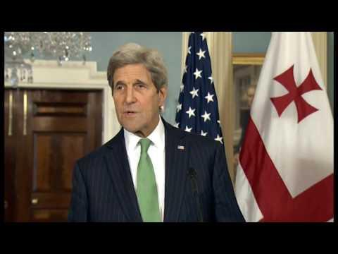 JOHN KERRY NE UKRAINE DHE GJEORGJI NE PRAG TE SAMITIT TE NATO NE VARSHAVE LAJM
