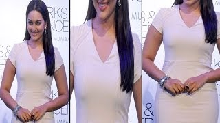 vuclip Hot Sonakshi Sinha In Tight White Dress Looks Slim & Sexy