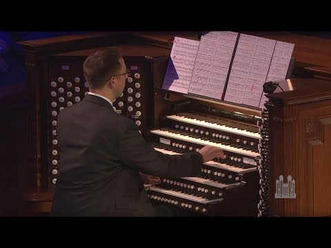 """Brian Mathias Performs His First Organ Solo - """"Finale,"""" from Symphony no. 6"""