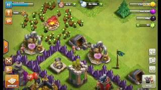 Minions nv 3 ¡!!¡ finalmente !!! Clash of Clans¡!