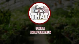 How To Do That - Ep. 1
