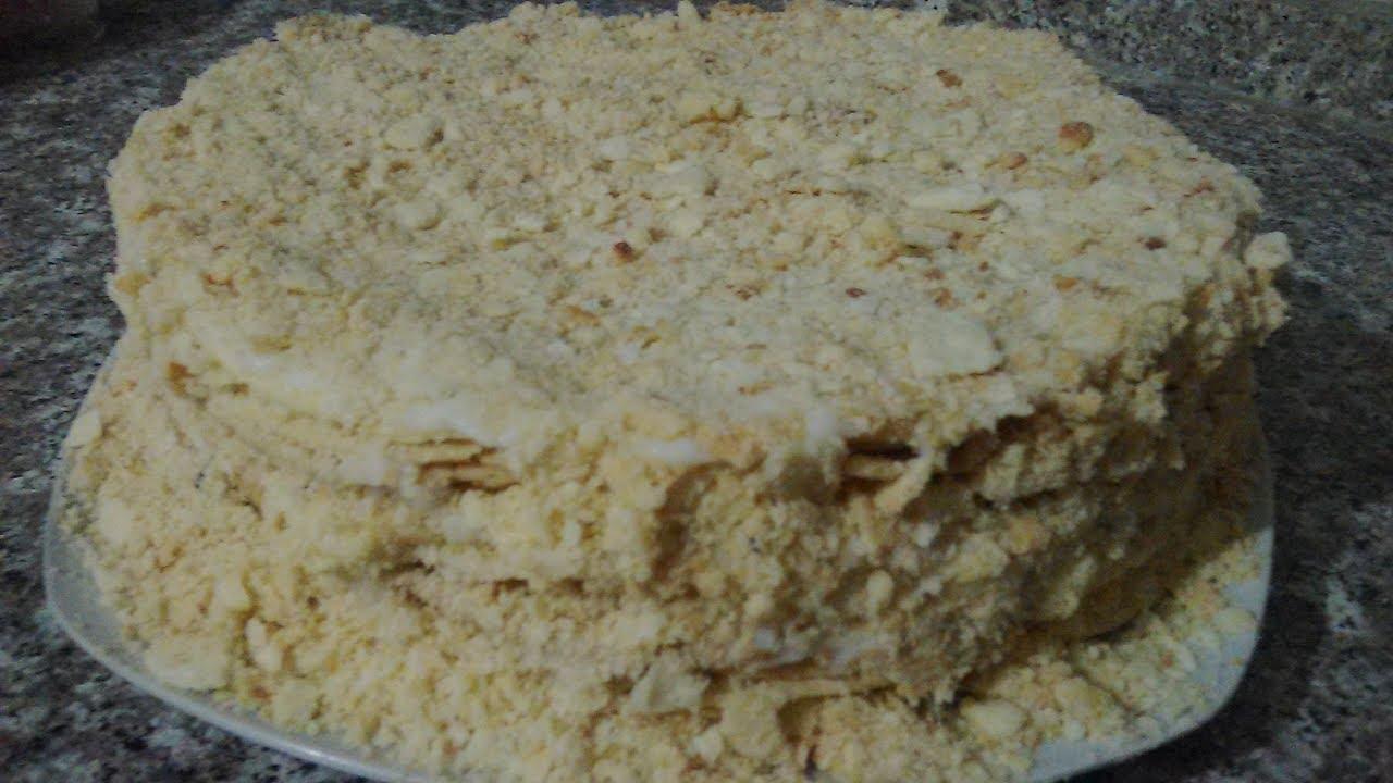 Самый простой рецепт для торта наполеон