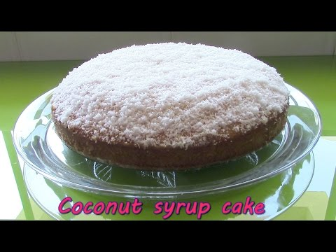 Coconut syrup cake recipe