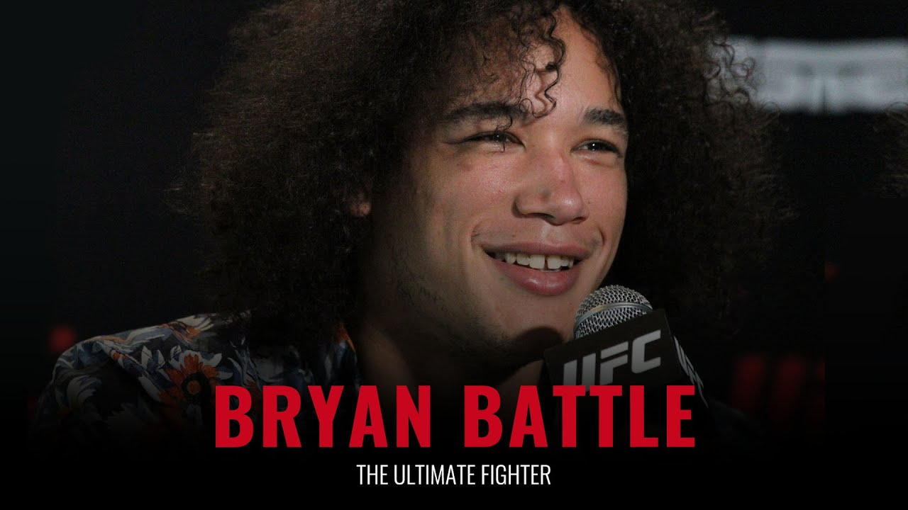 Download The Ultimate Fighter: Bryan Battle full pre-show interview
