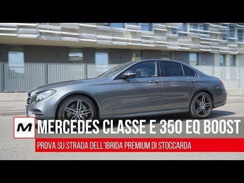 Mercedes Classe E 350 EQ Boost   Prova su strada della Ibrida Premium, le nostre opinioni