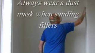 pro top tips to fill the joints in lining paper
