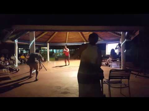 Karaoke @ the jolly beach resort in Antigua #1