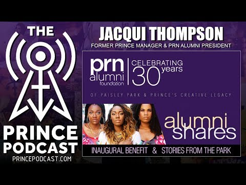 Former Prince Manager Jacqui Thompson Talks PRN Alumni