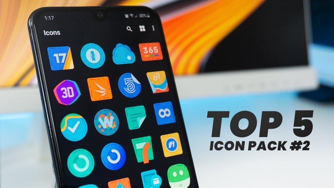 TOP 5 Best Icon Pack for Android #2 | 2019 | FezoDesigns