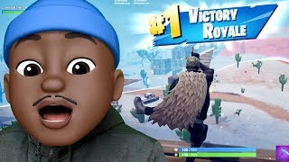 MEMOJI QJB HIDES TO GET VICTORY ROYALE ON NINTENDO SWITCH! Fortnite Battle Royale Gameplay Ep. 46