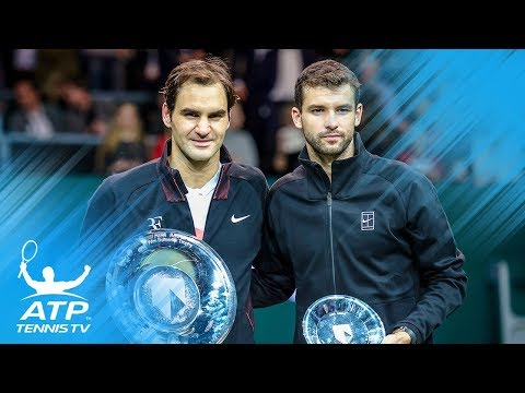 Roger Federer beats Grigor Dimitrov to win 97th title! | Rotterdam 2018 Final Highlights