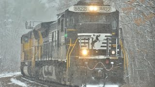HD: Changing Seasons on The NS D&H and Southern Tier Lines
