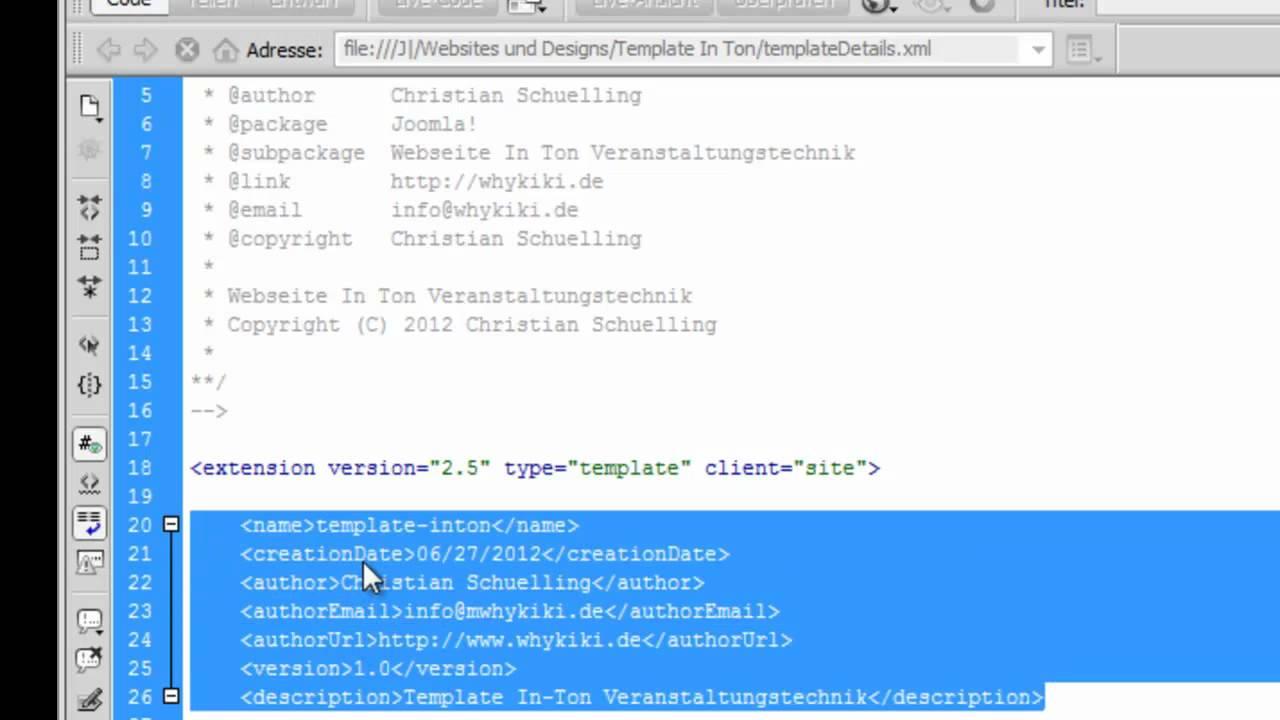 Joomla Templates | Tutorial Joomla Template Erstellen 1 Die Grundlagen Einfuhrung