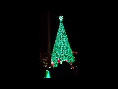 Easton Town Center Lighting of the Tree in Columbus Ohio.  Holiday.  from Nitram communication.