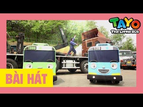 Bài hát mở đầu Tayo (Xe hạng nặng) l bài hát cho trẻ em l Tayo xe buýt nhỏ