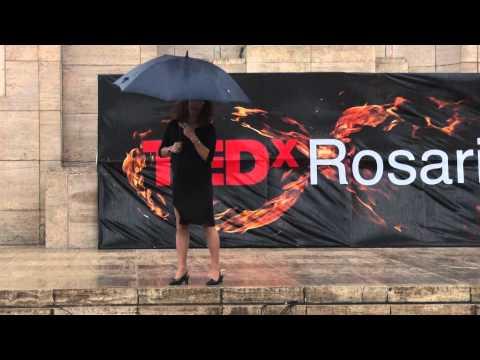 Soy papá, travesti, arquitecta, docente | Canela Grandi | TEDxRosario