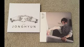 K-Pop Haul #42 (Jonghyun The Collection: Story Op.1 & Story Op.2 Unboxing)