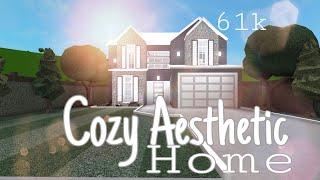 Roblox Bloxburg : Cozy Aesthetic Home - 61k : Bloxburg House