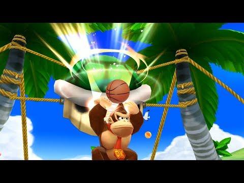 Mario Sports Mix -Koopa Troopa Beach- Donkey Kong , Diddy Kong vs Bowser Jr , Luigi