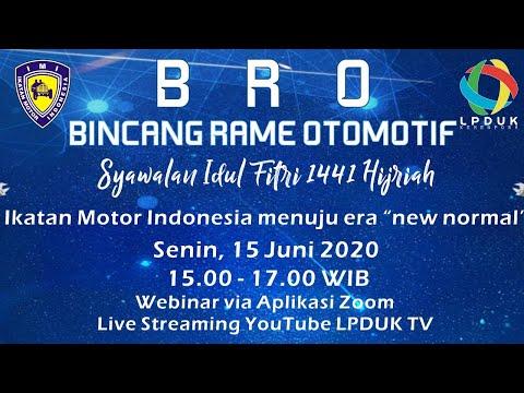 LIVE ZOOM LPDUK-TV: BINCANG RAME OTOMOTIF (BRO)