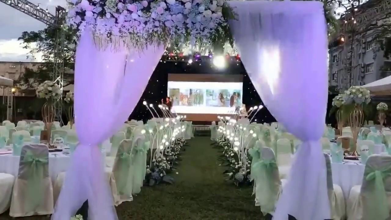 Wedding Setup At Nikko Garden