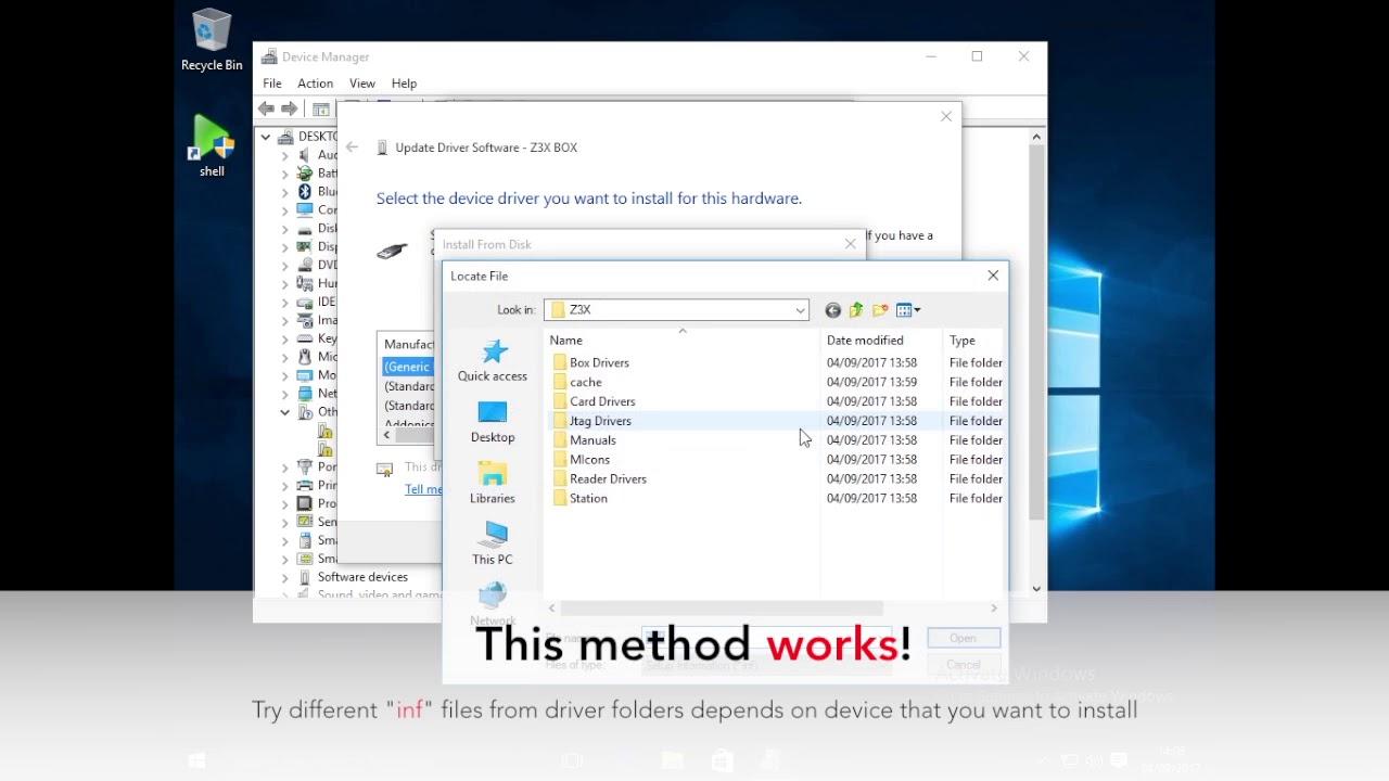 Z3x box smart card driver for windows 7 32bit download