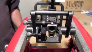 Sight removal with B&J P500 Universal Jig on Springfield XD9  (3 gun Competition)