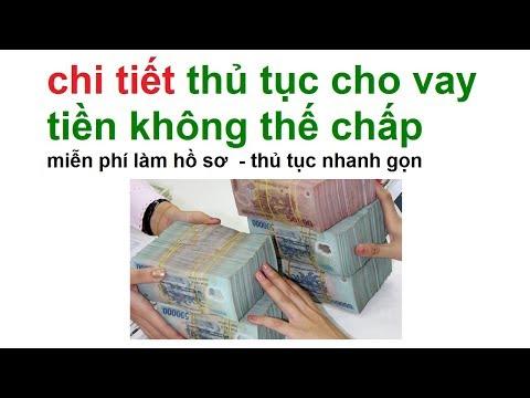 Vay Tiền Ngân Hàng: Cho Vay Tiền Không Thế Chấp/ Vay Tiền đơn Giản Nhất