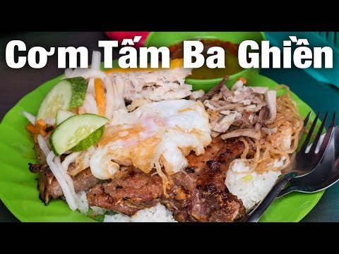 Vietnamese Street Food Grand Slam at Com Tam Ba Ghien!