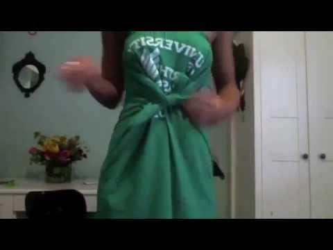 Как сделать платье из футболки 3 стиля