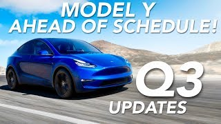 tesla Model Y Ahead of Schedule! + Q3 Earnings Update