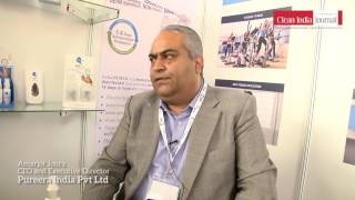 pureera india pvt ltd at clean india technology week 2017