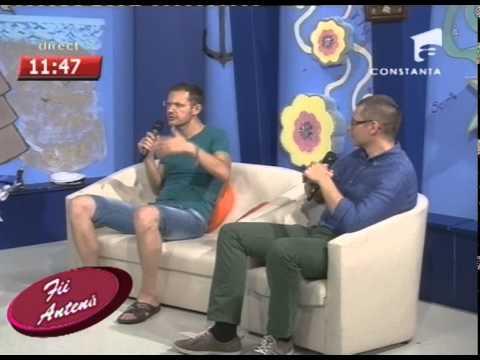 Antena 1 - Lansarea meniului Raw Vegan pe litoralul romanesc - la Restaurant Integra
