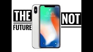 iPhone X - Apple (parody)