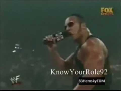 After 3 Boring minutes The Rock says......