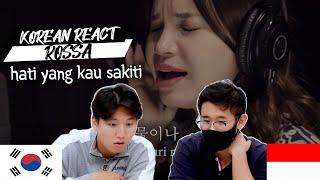 Download lagu Korean Reaction Rossa - The Heart You Hurt  Hati Yang Kau Sakiti | Indonesia