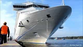 Klaipeda port Cruise ship Costa Pacifica