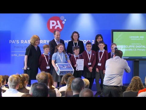 PA's Raspberry Pi Competition 2016 - Finals - YouTube