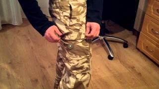 Брюки армии Великобритании Tropical Desert DPM