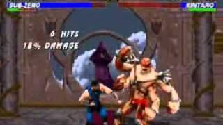 Mortal Kombat Trilogy: Sub-Zero Very Hard Champion Ladder