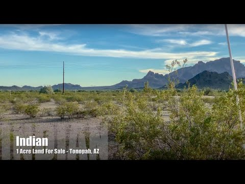 SOLD - Indian - Land For Sale - Tonopah, Arizona