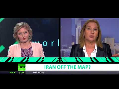 Iran off the map Ft. Tzipi Livni, Former Israeli Minister of Foreign Affairs