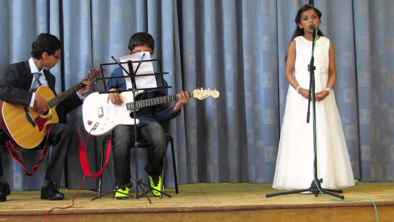 Hannah Sunil singing Alleluia