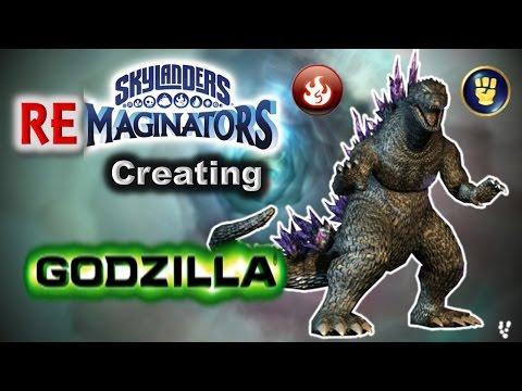 Skylanders RE-maginators - Creating GODZILLA