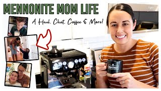 Mennonite Mom Life   Home Decor Haul   Spend the Day With Us