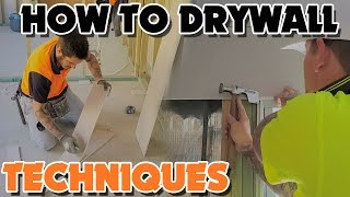 Drywall Install Tips and Techniques