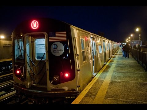 BMT Broadway (N) (Q) and (W) Line Action (MTA 1080p)
