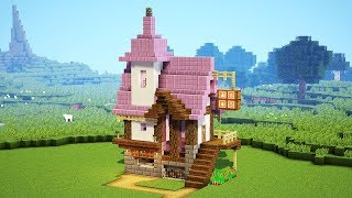 How to make a Alchemist's House / Potion Store in Minecraft